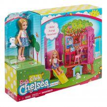 Barbie Домик на дереве Челси, FPF83