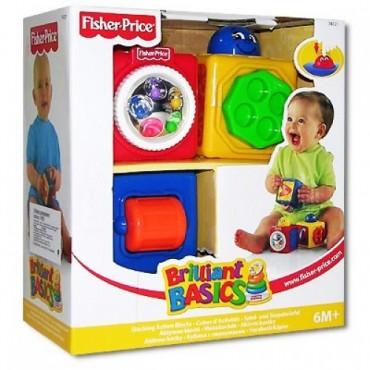 Кубики із сюрпризом Fisher Price, 74121