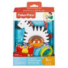 Развивающая игрушка на присоске Зебра, Fisher Price, FGJ11