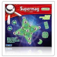 Манітний конструктор Supermag,що світиться в темноті,  Plast Wood, 0386