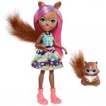 Лялька Enchantimals Білочка Санча 15см, FNH22 / FMT61