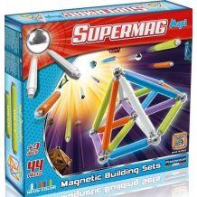 Магнітний конструктор Supermag Maxi, Plast Wood, 0115