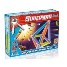 Магнітний конструктор Supermag Maxi, 22ел, Plast Wood, 0114
