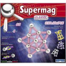 """Магнітний конструктор 60 ел. Supermag  """"Magnetik Power"""", Plast Wood, 0212"""
