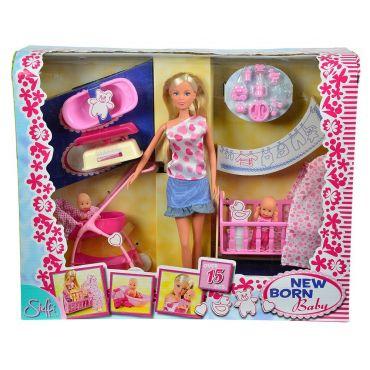 Кукла Штеффи с младенцем Steffi Love, 105730861