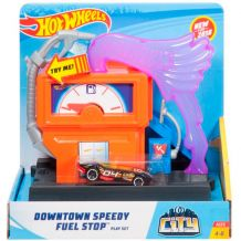 "Трек Hot Wheels ""Бензоколонка"" серии City, FRH28 / FRH30"