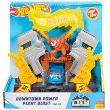 """Трек Hot Wheels """"Вибух на електростанції"""" серії City, FRH28 / FRH31"""