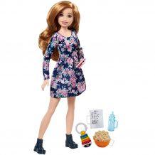 "Кукла Barbie ""Семья Барби: Няня"" - Поп-корн, FHY89 / FHY90"
