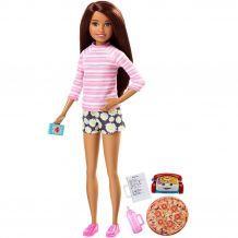 "Лялька Barbie ""Сім'я Барбі: Няня"" - Піца, FHY89 / FHY92"