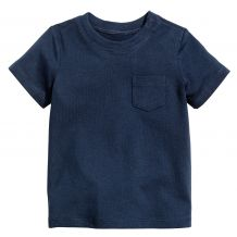 Футболка для мальчика синяя, H&M, 0487275003