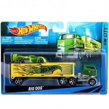 Машина дальнобійника Hot Wheels Rig Dog, BDW51 / BDW52