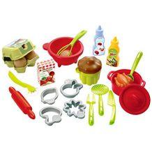 Набір посуду з продуктами Ecoiffier, 2617