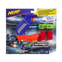 Nerf Nitro TROTTLESHOT- Постріли машинкою,HASBRO, C0780