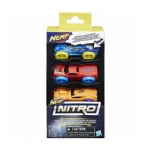 Nerf Nitro- дозаправка, комплект 3 машинок, С0776 / С0774