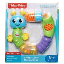 Гусеница-конструктор для детей, Fisher-Price, W9834