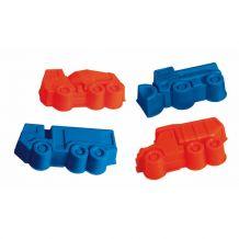 Набір великих формочок для піску 4шт, Dino, 645172