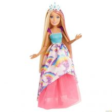 Лялька Barbie Дрімтопія блондинка велика 43 см, FXC80