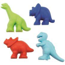 Набір формочок для піску 4 штуки Динозаври, Ecoiffer, 174