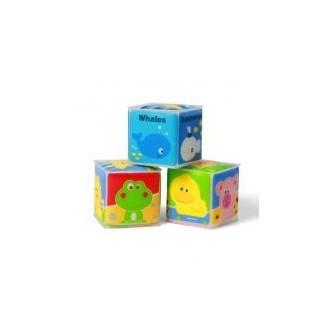 Кубики навчальні міні 3шт, 894
