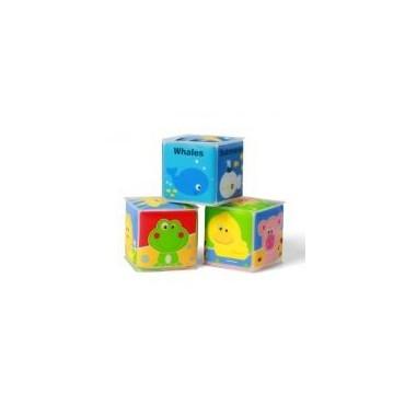 Кубики навчальні міні 3шт, BabyOno, 894
