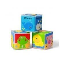 Кубики учебные мини 3шт, 894