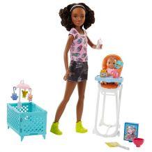 Игровой набор Babysitters Уход за малышом, Mattel, FHY97 / FHY99