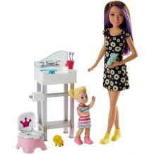 Игровой набор Babysitters Уход за малышом, Mattel, FHY97 / FJB01