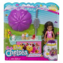 Ігровий набір Barbie Частування Челсі и звірятка, MATTEL, FDB32 / FDB33