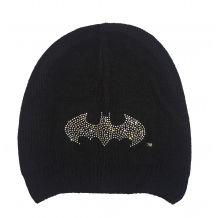 Чорна в'язана шапка Бетмен з камінцями, Original Marines, 61160