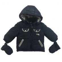 Зимова куртка з рукавичками для хлопчика, IDEXE, 9702990