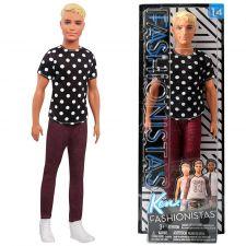 Кукла Barbie Кен Модник Doll 14 in Black & White, FJF72