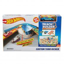 """Трек """"Поворот с ускорителем"""" серии """"Track builder"""", Hot Wheels, DNH84 / FPG95"""