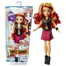 Little Pony Equestria Girls Sunset Shimmer Classic Style, Hasbro, Е0631