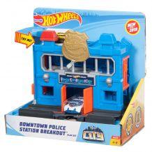 """Трек Hot Wheels """"Погром полицейского участка"""" серии City, FRH28 / FRH33"""