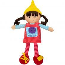Текстильная развивающая кукла Ула, BABY MIX, 8488-31