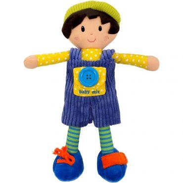 Текстильна розвиваюча лялька Артур , BABY MIX, 8488-31B