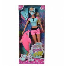 Кукла Штеффи с дельфином и принадлежностями для дайвинга, 5733201