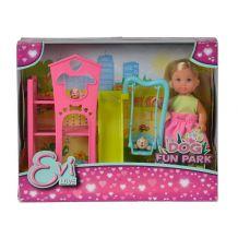 Кукольный набор Эви Dog Fun Park, 5733074