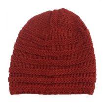 Дитяча бордова в'язана шапочка, Zara, 1323589