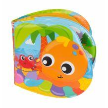 Книжечка-пищалка для ванной Веселые друзья, Playgro, 0186965