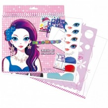 Креативный набор прически и макияж, 311083