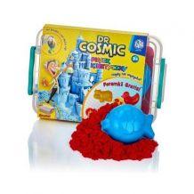 Ігровй набір для творчості KINETIC SAND червоний+ 1 формочка 500гр, Astra,336117054