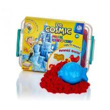 Ігровй набір для творчості KINETIC SAND червоний+ 2 формочки 1кг, Astra,336117058