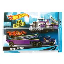 Машина дальнобійника Rumble Road Hot Wheels, BDW51