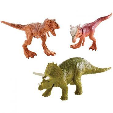Набір рухливих міні-динозаврів 3шт, Mattel, FPN84/FPN72