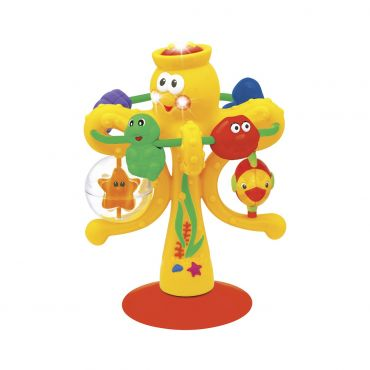 Іграшка на присоску Музичний восьминіг, Kiddieland, 038190