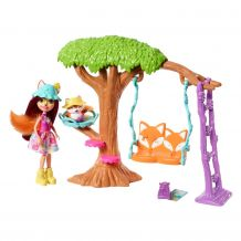 Ігровий набір Enchantimals Будинок на дереві Феліситі Лис, FRH44/FRH45