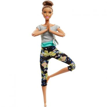 "Лялька Barbie ""Рухайся як я"" брюнетка, FTG80/FTG82"