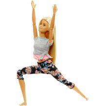 "Кукла Barbie ""Двигайся как я"" блондинка, FTG80 / FTG81"