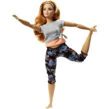 """Лялька Barbie """"Рухайся як я"""" пишна, FTG80/FTG84"""
